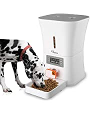 SKYMEE 8L Petreat AI Automatic Pet Feeder Food Dispenser for Cat & Dog - Portion Control,Voice Recording, Timer Programmable Up to 4 Meals a Day