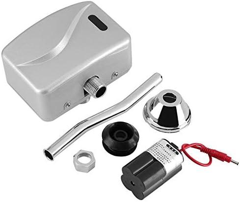 Pomya Urinalventil, Badezimmertoilette Freiliegender Automatischer Sensor zur Wandmontage Berührungsloses Urinalspülventil DC 6V