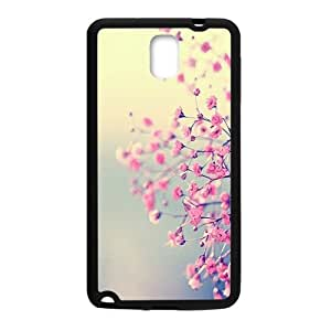 Pink Flowers Cell Phone Case for Samsung Galaxy Note3