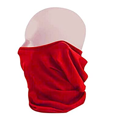BXT Outdoor Sports Elastic Breathable Sun-resistant Windproof Anti-dust Polyester Bike Cycling Motorcycle Ski Neck Snood Warmer Hood Hat Veil Thin Breathable Full Face Mask Helmet Headgear Balaclava