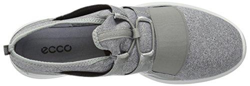Alusilver Fashion ECCO Women's Concrete Sense Elastic Toggle Sneaker ngg6FqYZ