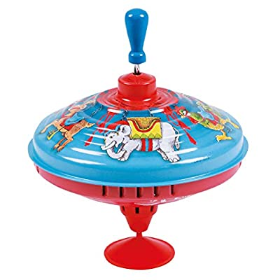 Humming Top 'Blue Carousel': Toys & Games