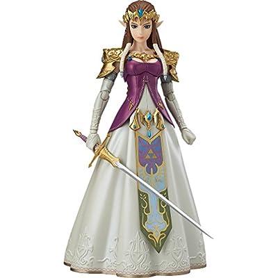 Good Smile The Legend of Zelda Twilight Princess Zelda Figma Action Figure: Toys & Games