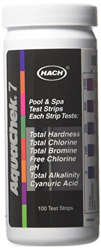 (AquaChek 551236 7-Way 100 Count Pool Water Test Strips)