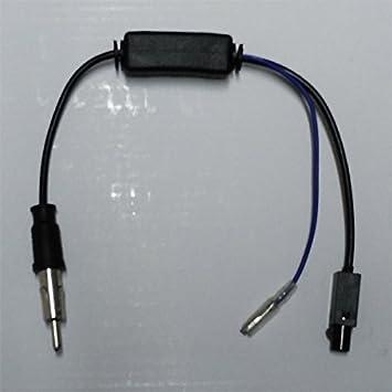 Adaptador Antena con Amplificador de señal/Radio Estéro de ...