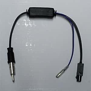 Adaptador Antena con Amplificador de señal/Radio Estéro de