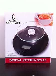 Grand Gourmet Digital Kitchen Scale