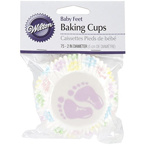 baby shower cupcake wrappers - 8