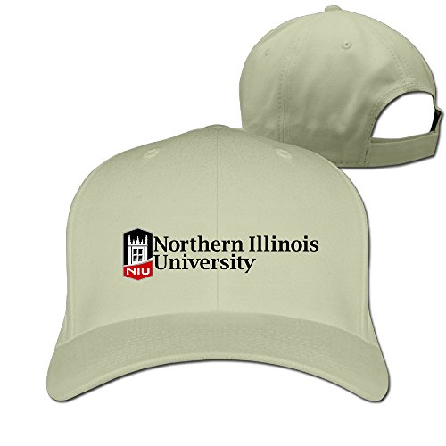 Price comparison product image WG Custom Fashion Adjustable Northern Illinois University NIU Hip Hop Hats Caps Natural