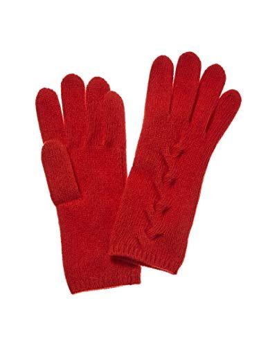 Portolano Womens Cashmere Cable Glove - Portolano Cashmere