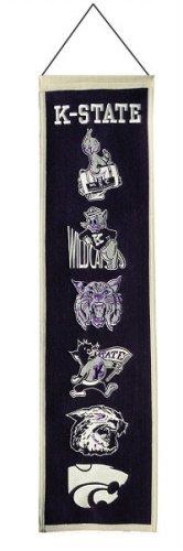 Kansas State Wildcats Logo Evolution Heritage Banner