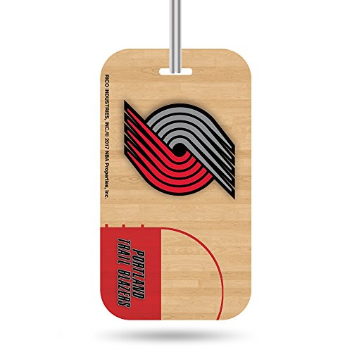 Rico NBA Portland Trail Blazers Crystal View Team Luggage Tag, Tan, 7.5-inches by 3-inches by 0.5-inch