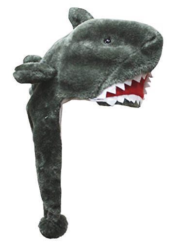 Animal Clothing Grey Shark Warm Hat Polyester Unisex Children Costume