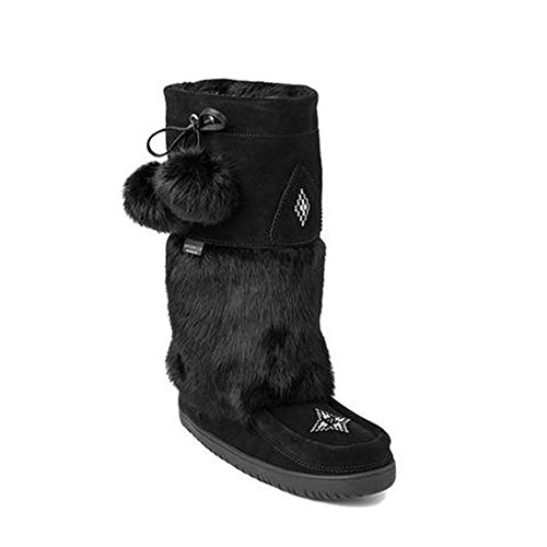 wy Owl Waterproof Mukluk Black Winter Boot - 9 ()