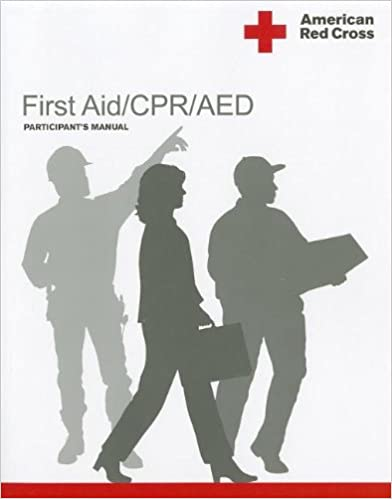 3000e778d955 First Aid CPR AED Participant s Manual 1st Edition. by American National Red  Cross ...
