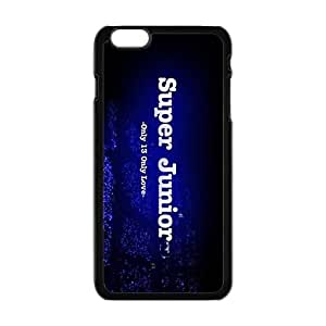 Super Junior SJ Phone Case for Iphone 6 plus black