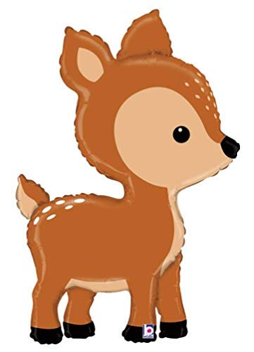 DalvayDelights Woodland Critters Deer Fawn Figure Birthday Party