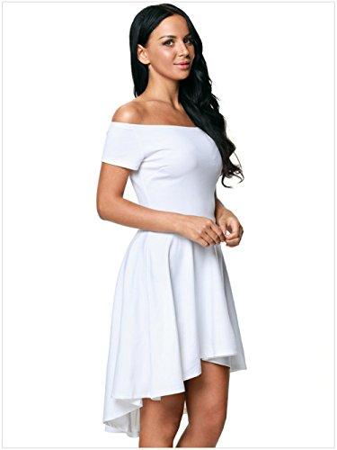 Mode en la White FRPQR et Robe Robe Europe en Amrique Longue vqtItr68