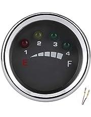 May Gifts Medidor de bateria de LED, medidor de bateria, tamanho pequeno de alta confiabilidade para barco solar elétrico (24V)