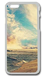 Beach And Sky Personalized Custom iPhone 6 Case Cover - PC Transparent