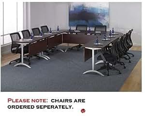 qsp u shape modular training conference table office products. Black Bedroom Furniture Sets. Home Design Ideas