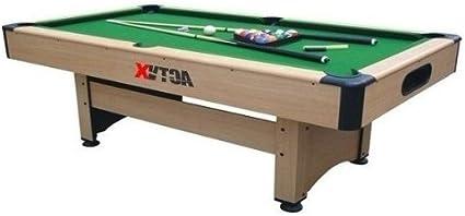 www.mesabillar.es Billar ECONOMICO 213x122 cm con retorno de bolas automatico: Amazon.es: Deportes y aire libre