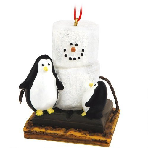 Christmas Decoration S'mores with Penguins Christmas/Everyday Ornament by Midwest-CBK