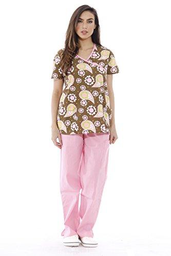 Just Love 1311W-10-M Nursing Scrubs Set for Women/Print Scrubs - Hospital Uniforms