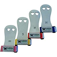 Freedomstrength® Children Size gymnastics palm protectors with coloured wrist strap