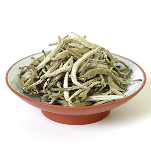 GOARTEA 500g (17 6 Oz) Premium Chinese Organic Bai Hao Yin Zhen BaiHaoYinZhen Silver Needle White Loose Tea Blanco