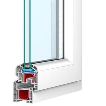 Kunststofffenster weiß  Kunststofffenster weiss 2-fach verglast 90x60 links kipp- und ...