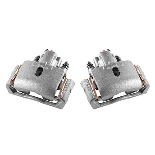(CKOE00978 [ 2 ] REAR Premium Grade OE Semi-Loaded Caliper Assembly Pair Set)