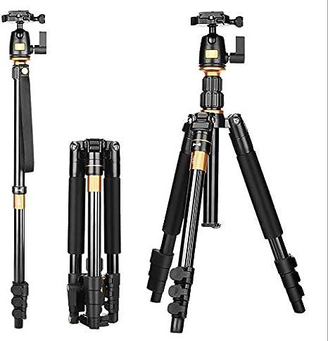 YaeKoo Q555 Trípode Ligero de Viaje Monopie para Canon Nikon Sony ...
