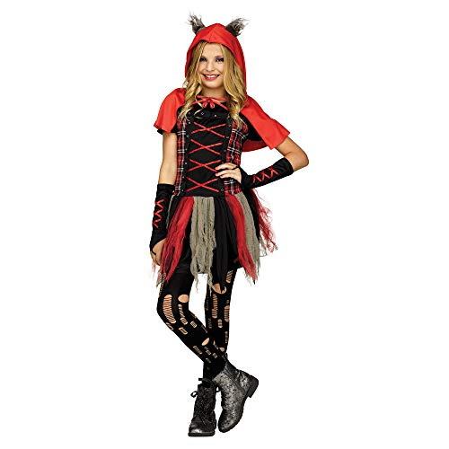 Little Red Wolf Child Costume -