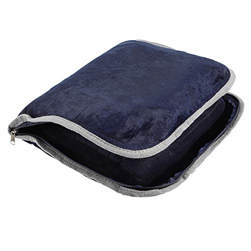 Navy Blue Warm Blanket - Sports & Outdoor - 1PCs by Unknown (Image #3)