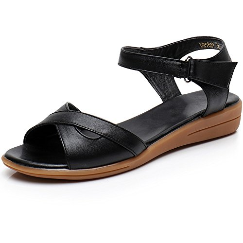 不快な助けて処方するXIAOLIN レザーフラットボトムフラットヒールノンスリップシンプルな黒と白の野生の女性の靴(オプションのサイズ) (色 : 白, サイズ さいず : EU42/UK8.5/CN43)