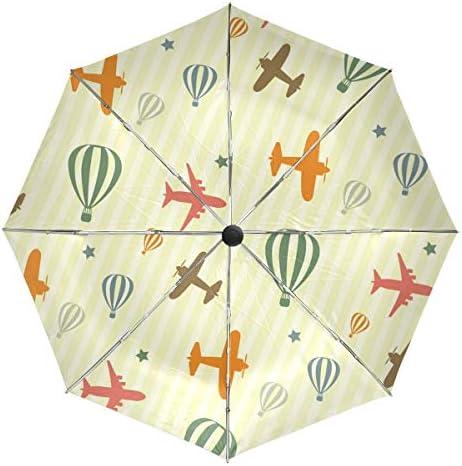 Chovy 折りたたみ傘 軽量 自動開閉 晴雨兼用 レディース 日傘 UVカット 遮光 ワンタッチ メンズ 豚 ピンク 海賊 おもしろ かわいい 可愛い 雨傘 傘 晴雨傘 折り畳み 8本骨 遮熱 丈夫 耐風撥水 収納ポーチ付き プレゼント