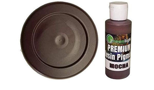 Pigmento de resina, color marrón moca: Amazon.es: Juguetes ...