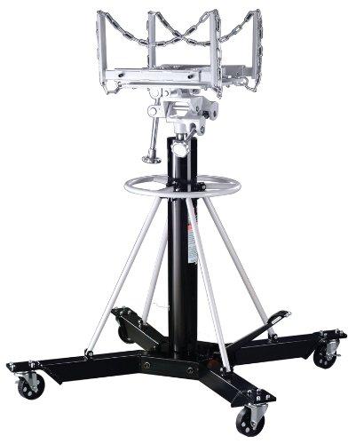 Omega 42003 Black Telescopic Transmission Jack - 1 Ton ()