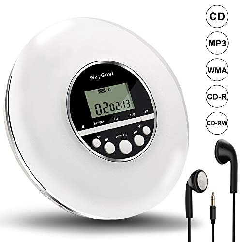 WayGoal Portable CD Player, Pers...