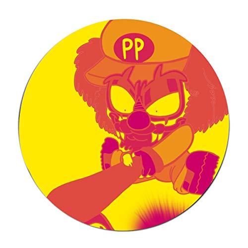 XASFF Demon Clown Welcome Floor Door Mat Home Decor, Round Non-Slip Door Mat ()