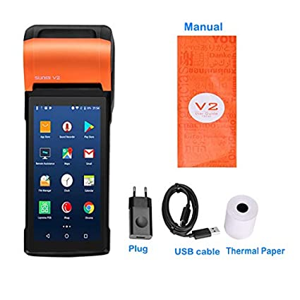 Amazon.com: OSB STYLE POS Android 7.1 PDA Handheld POS ...