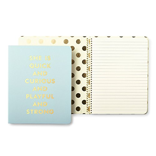 Kate Spade New York espiral notebook-quick y Curious