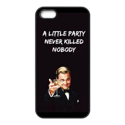 B0R54 Wolf of Wall Street T6M1HL coque iPhone 4 4s cellulaire cas de téléphone couvercle coque noire IG6FRJ9LO