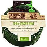 Gardman 100m Gartendraht mit PVC-Überzug