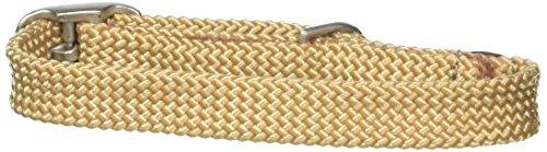 Braid Leather Bridle - Mendota Double Junior Collar, Sand, 9/16