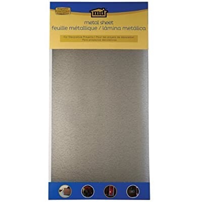 M-D Building Products 57321 Decorative Magnetic Galvanized Steel Sheet by M-D Hobby & Craft