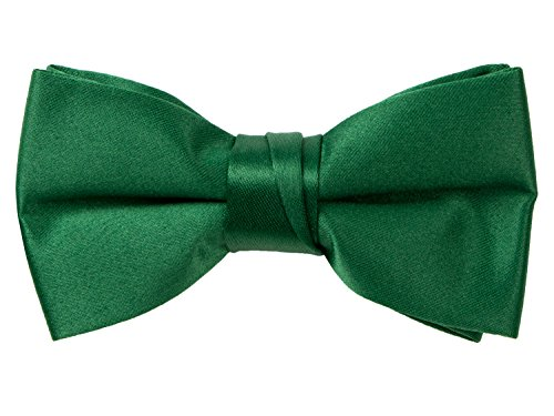 Spring Notion Boys' Pre-tied Banded Satin Bow Tie with Gift Box Large ()