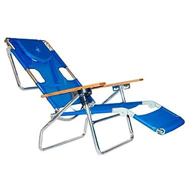 Ostrich 3 N 1 Beach Chair / Lounger Color: Blue [3N1-1001B]