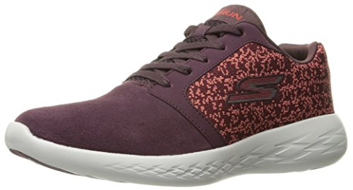Burgundy 15060 Skechers Go 600 Run Women's Running Performance 7ww4qPO